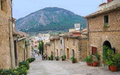 Climb the Calvari steps in Pollensa, North Mallorca