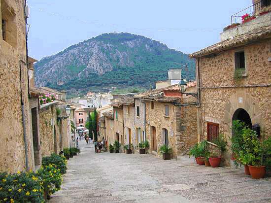 Climb the Calvari steps in Pollensa, North Mallorca